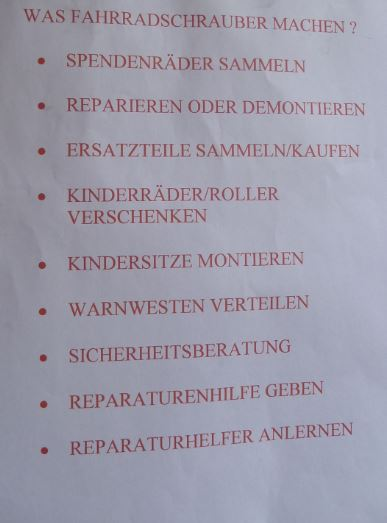 Infotafel Integrationsfest